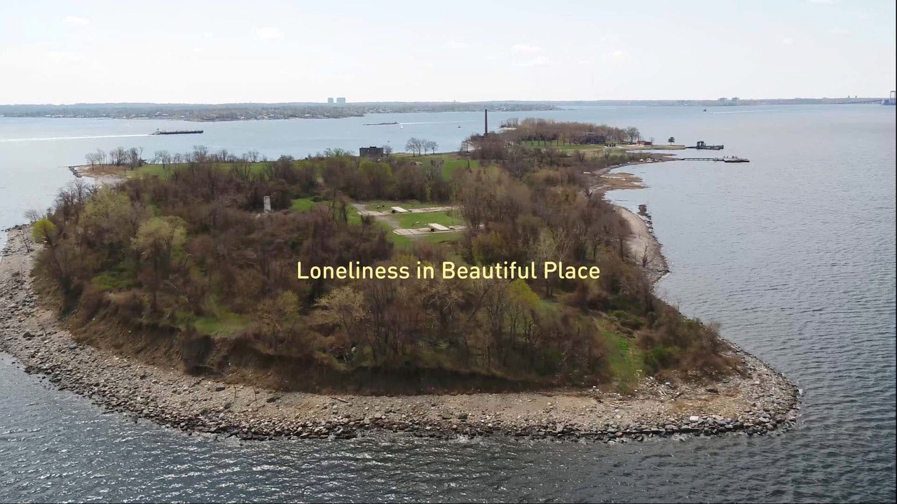 Melinda Hunt, video still from  Loneliness in a Beautiful Place , 2018