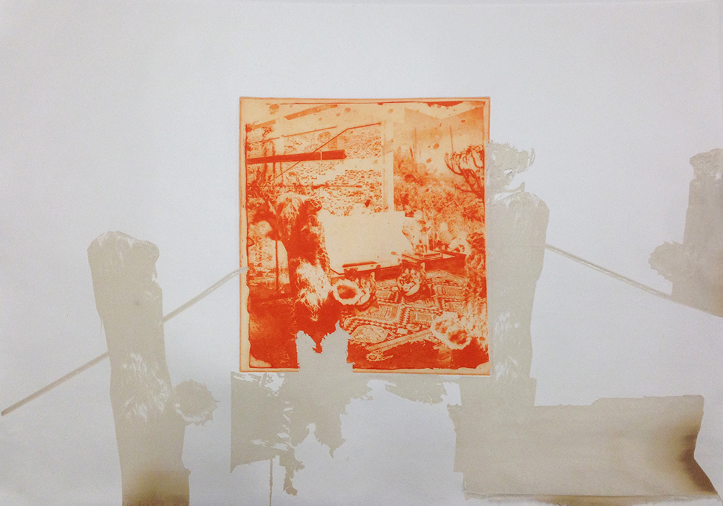 Carolyn Hulbert , Untitled 01  2015,Photogravure