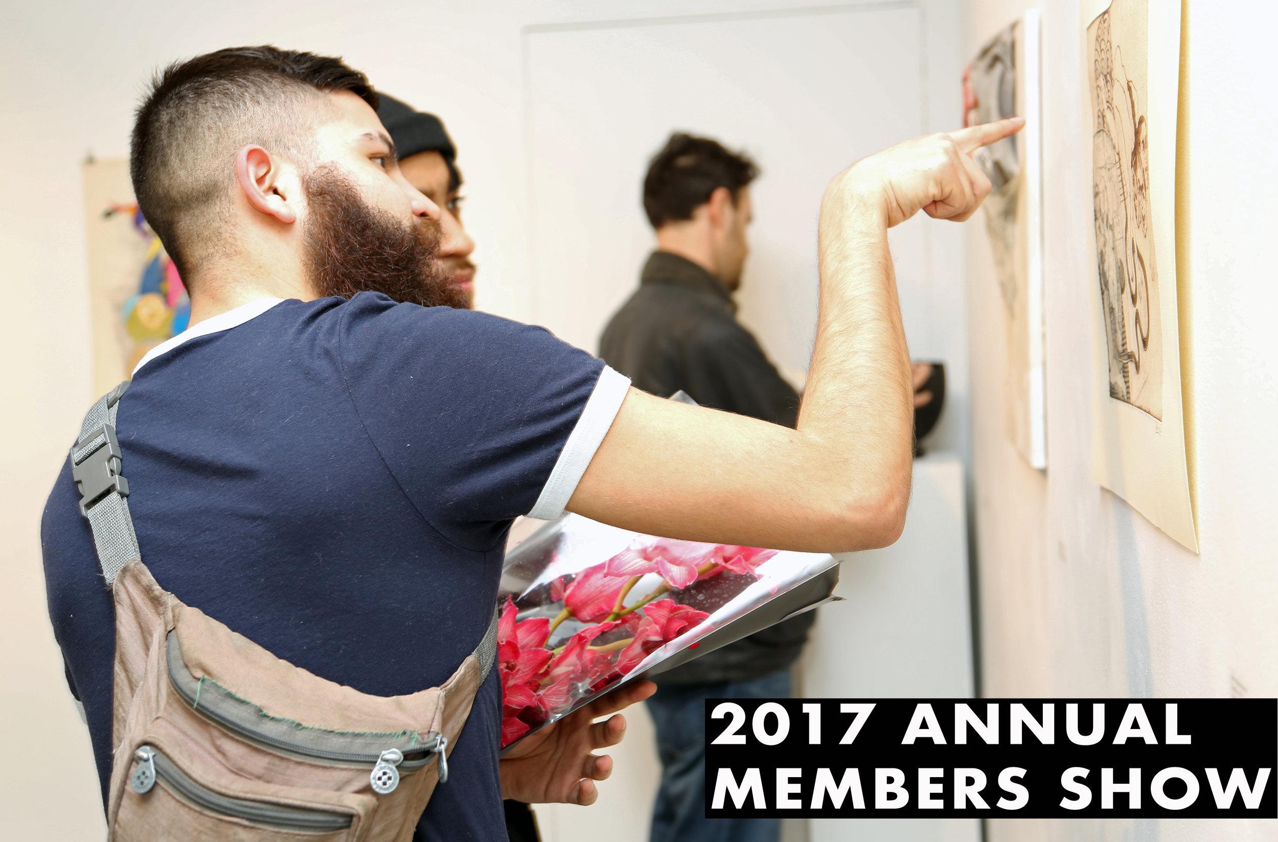Members Show  October 11 - October 22, 2017