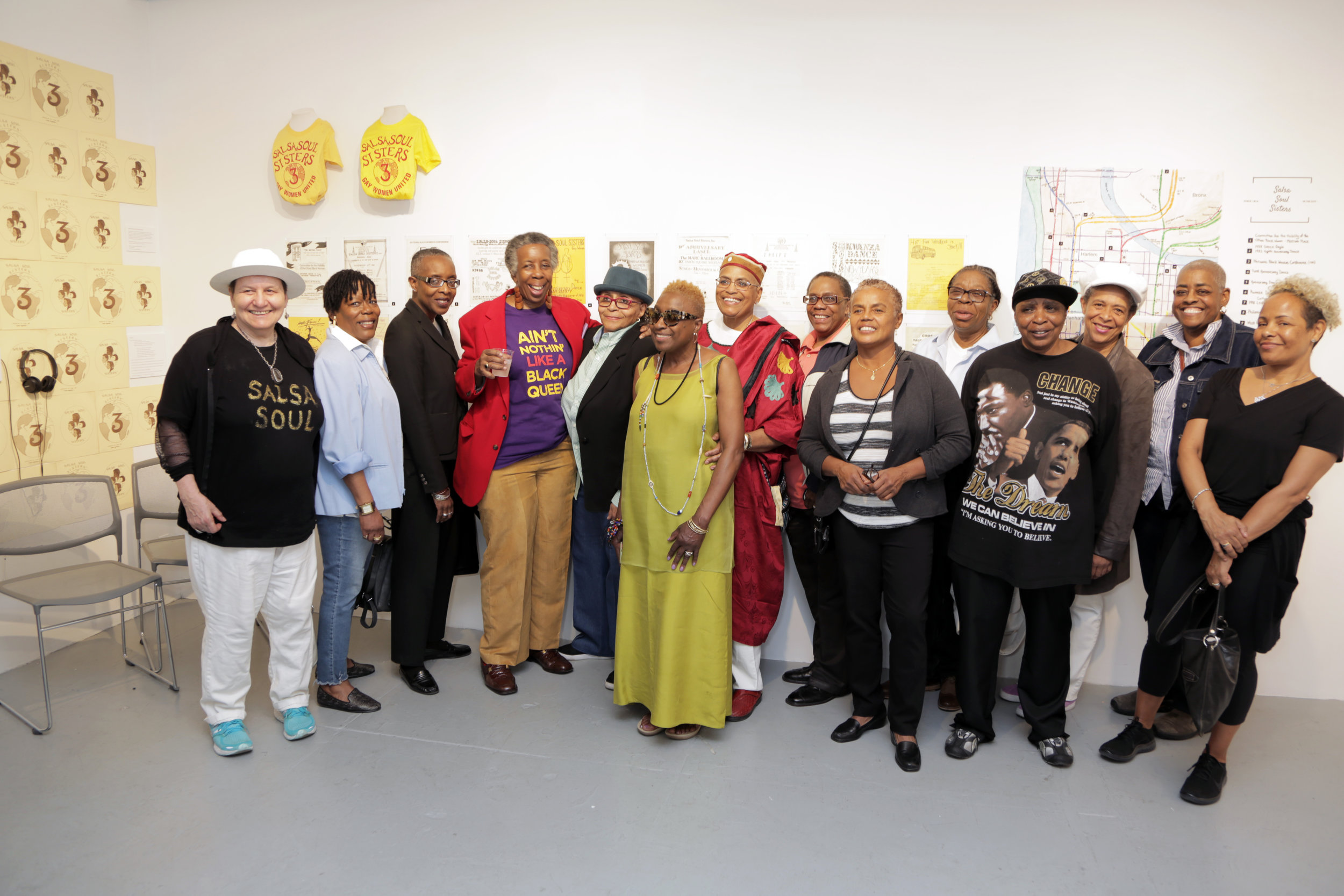 Salsa Soul Sisters Opening Reception   May 9, 2018