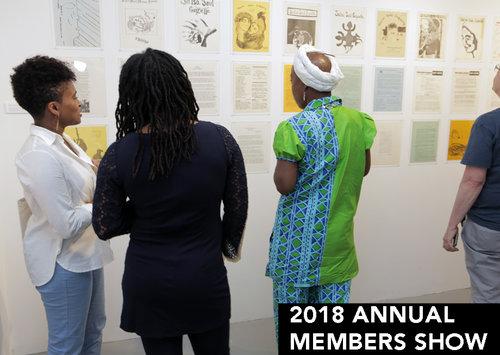 Annual Members Show  October 1 - 28, 2018