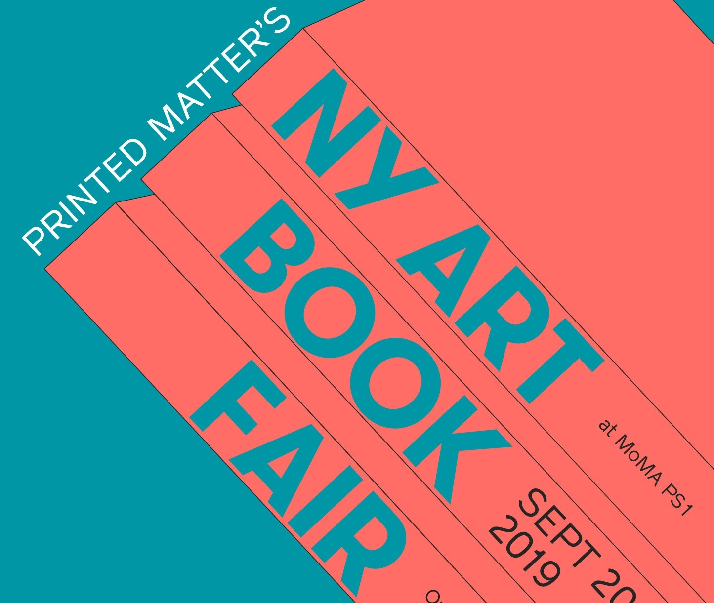 PRINTED MATTER'S NY ART BOOK FAIR   September 19-22, 2019