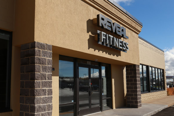 Retail Construction for Reveal Fitness