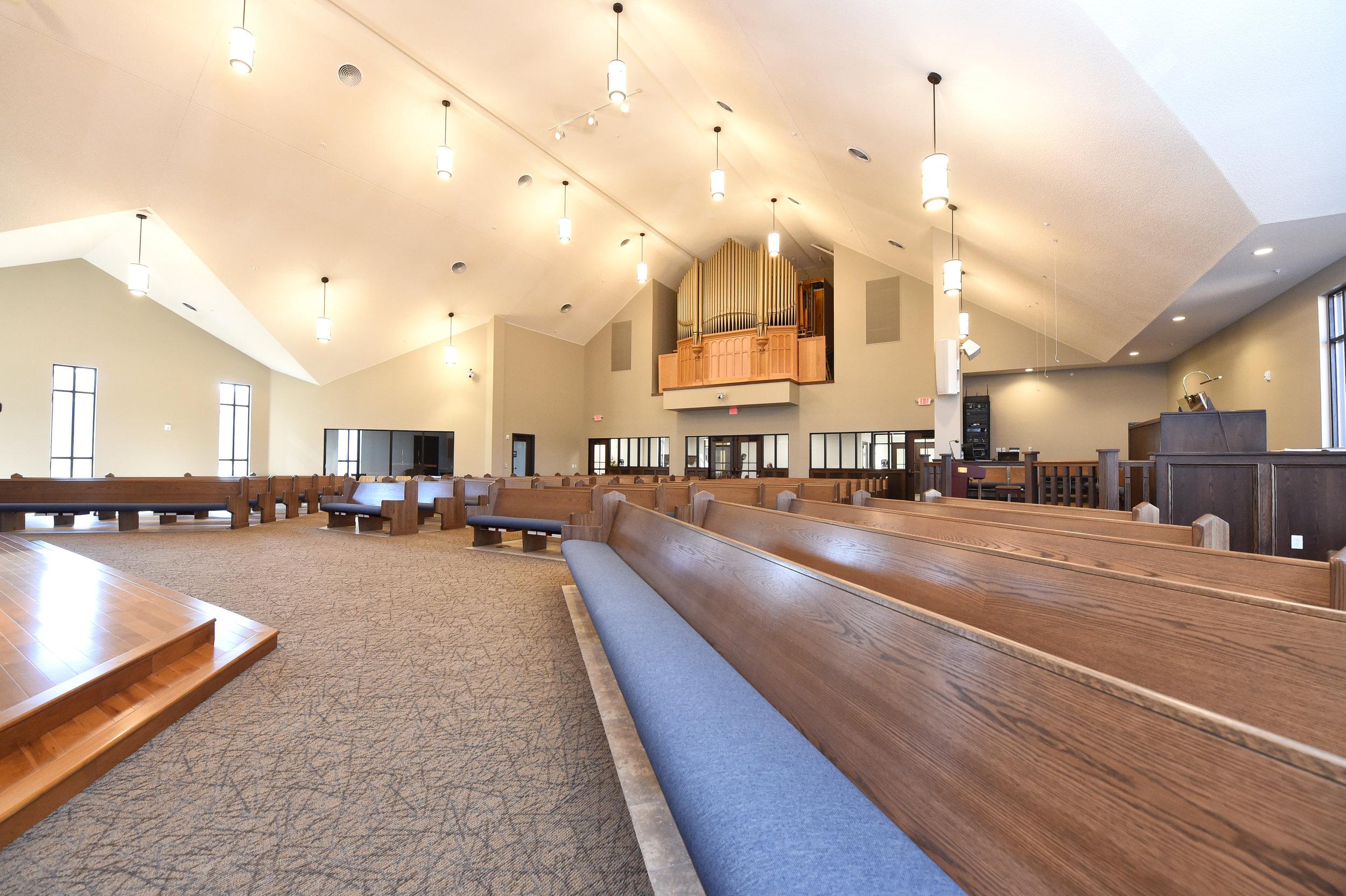 Bethlehem Lutheran Church Pews