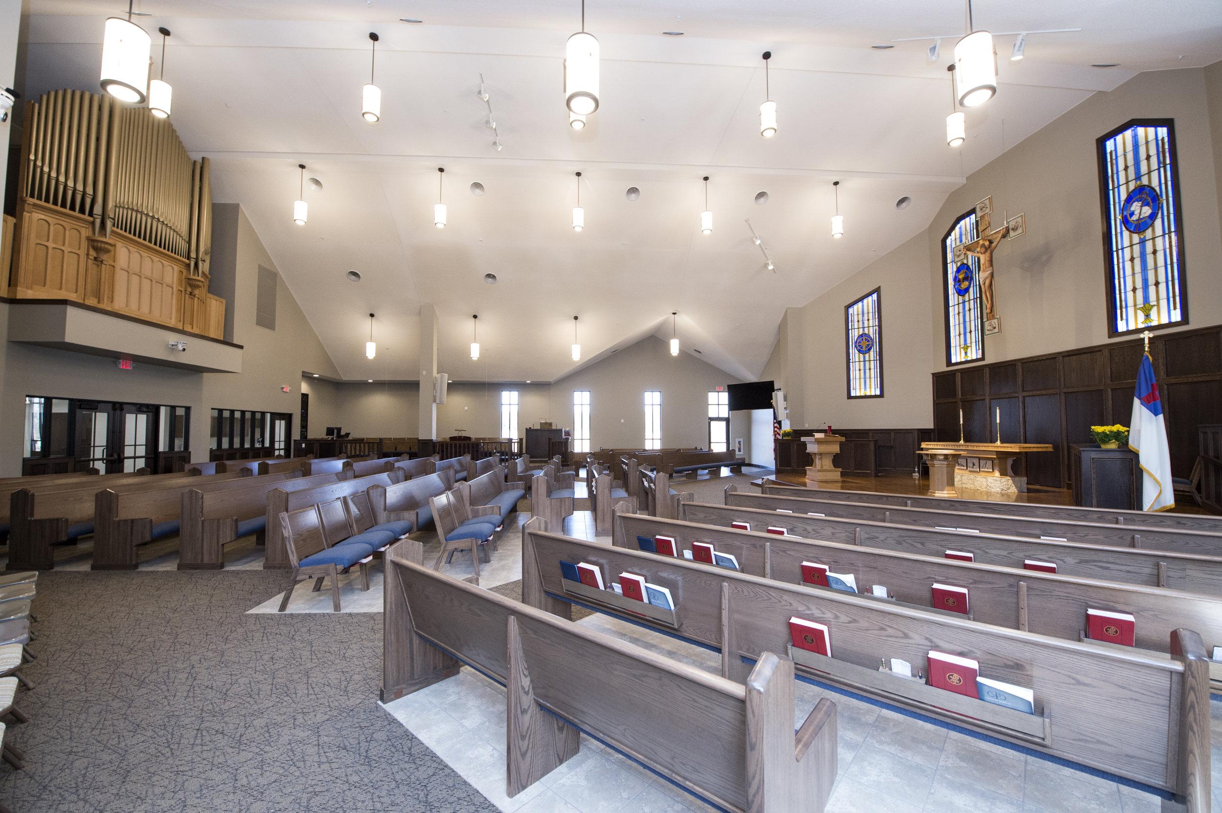 Bethlehem Lutheran Church View of the Sanctuary