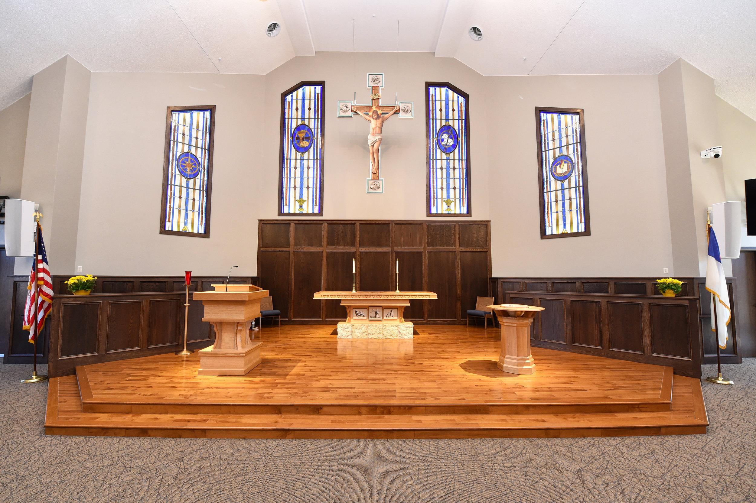 Bethlehem Lutheran Church Pulpit