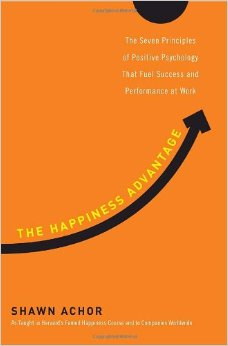 This is a book I read recently, and it's one of the best I've read in years on happiness and success. Shawn helped teach the famous Harvard course on happiness, and brings the best of that research and more into this great book. Click on it. I think you'll like it!