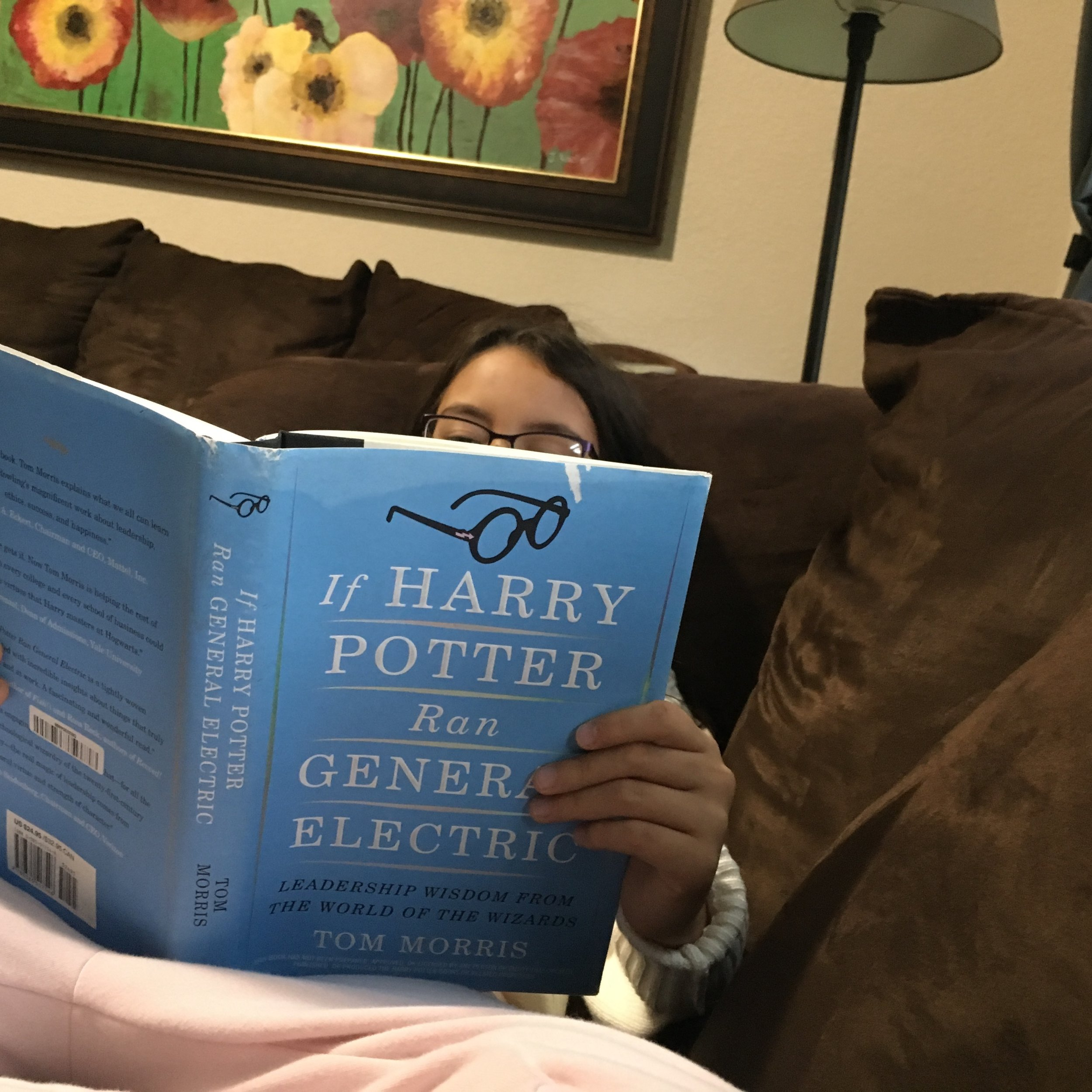 My Favorite Photo of the Month: A young lady named Jubilee gets off to a head start in life by diving into some philosophy! I do appreciate reader photos like this! And I like that white mark at the top showing wear and use! Thanks!