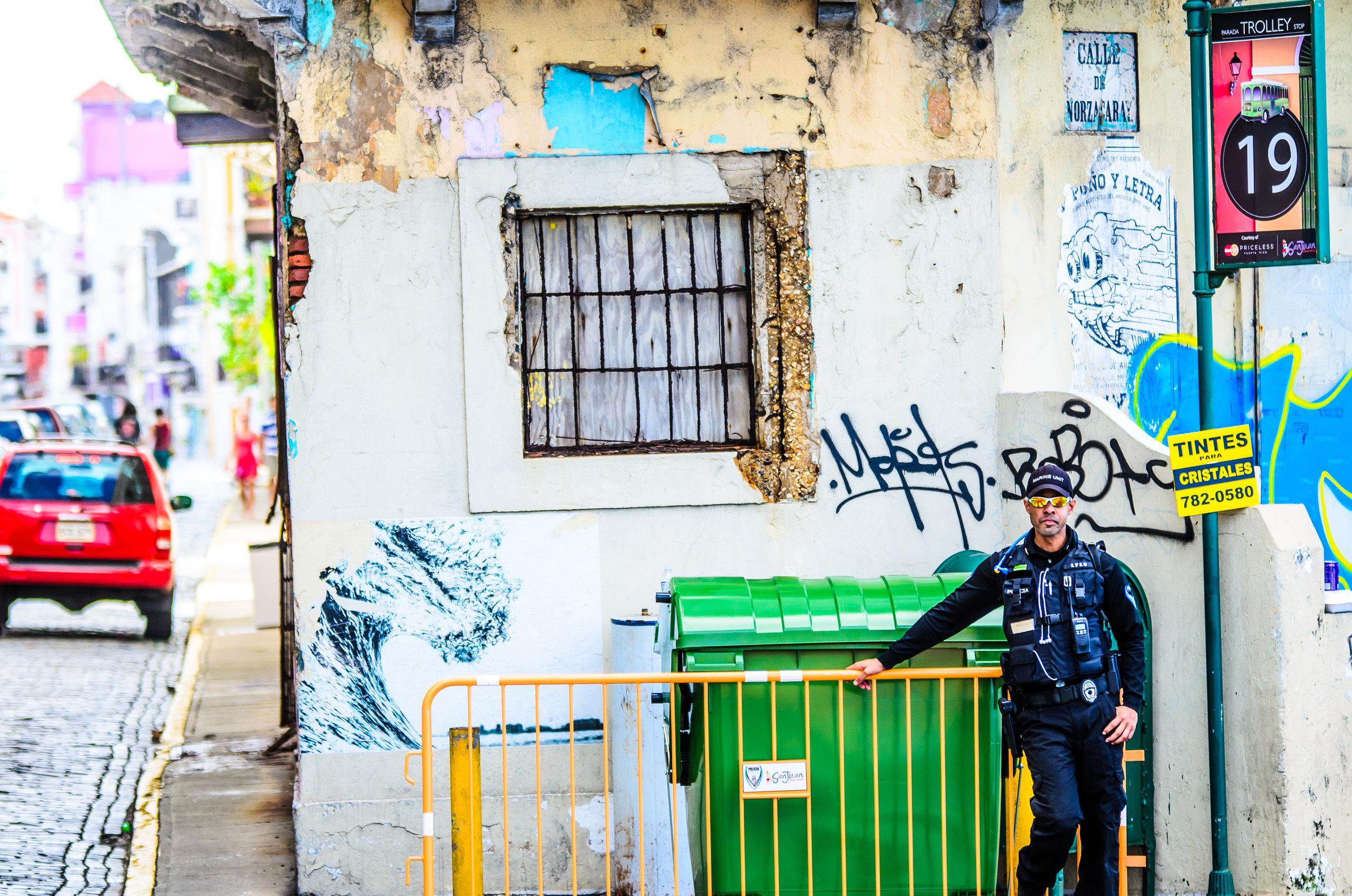 Old San Juan Steets - 2014