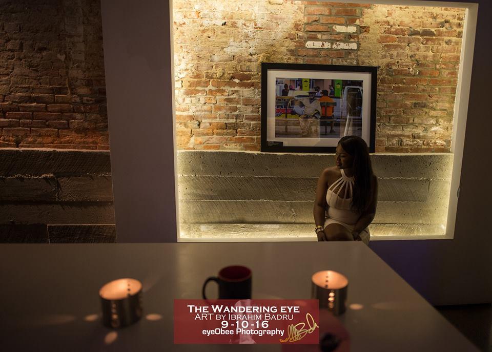 L2 Lounge DC - The Wandering Eye - Art by Ibrahim Badru - EyeObee ART