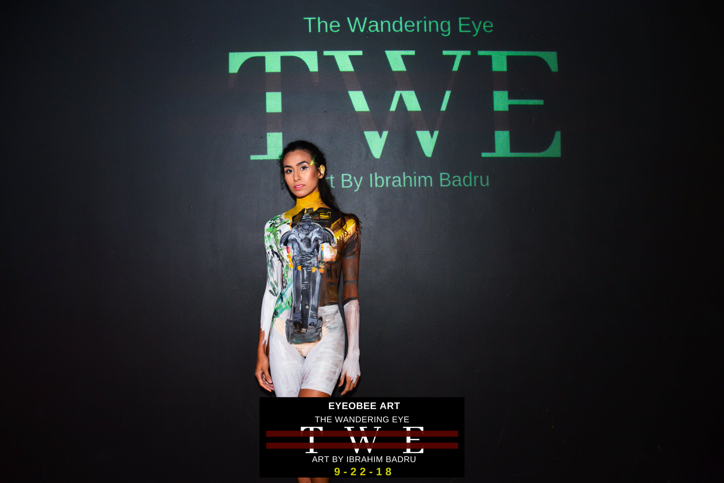 The Wandering Eye Art by Ibrahim Badru eyeObee ART Thailand dmv