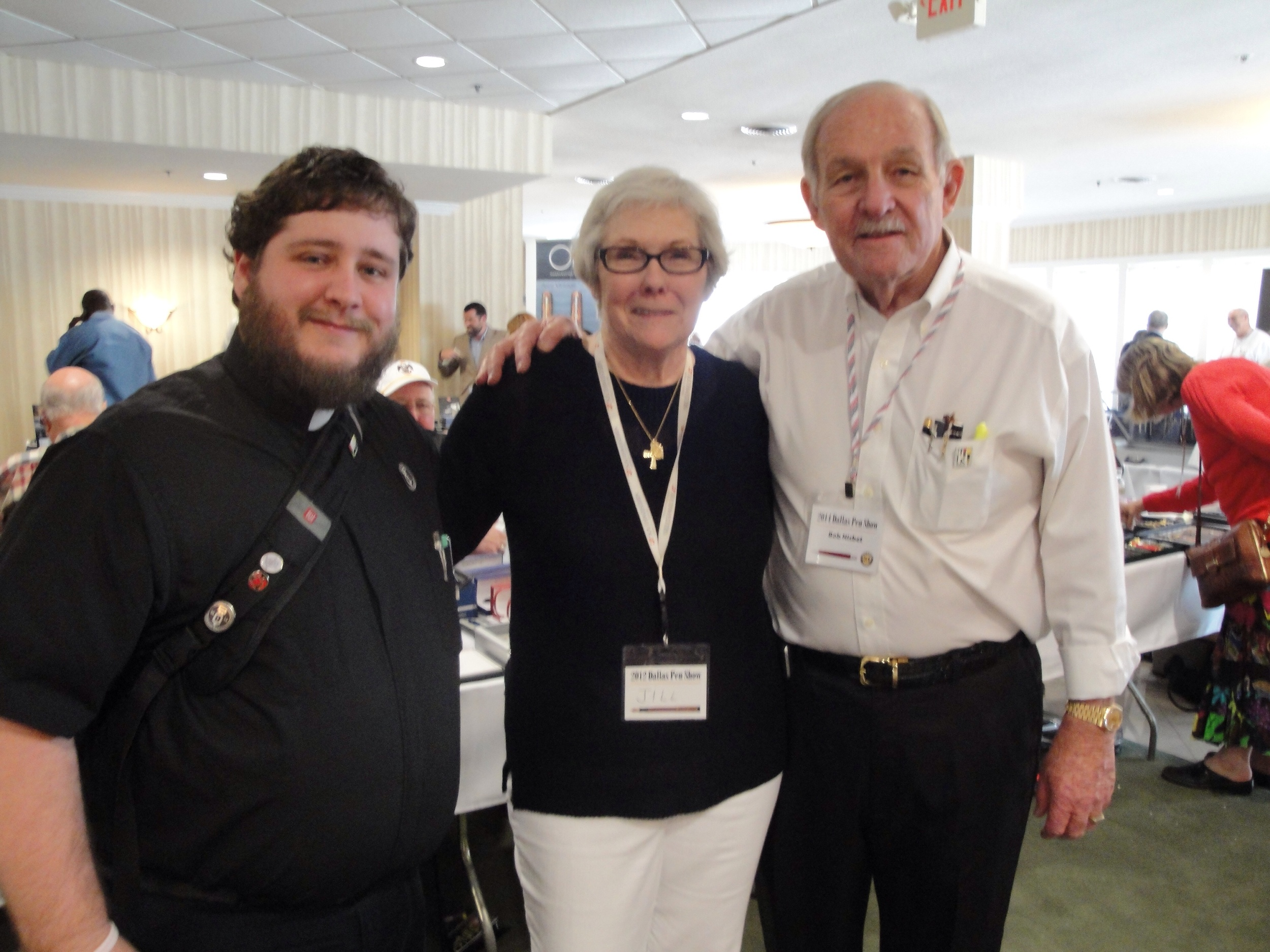Myself with Dr. Bob and Jill Nisbet