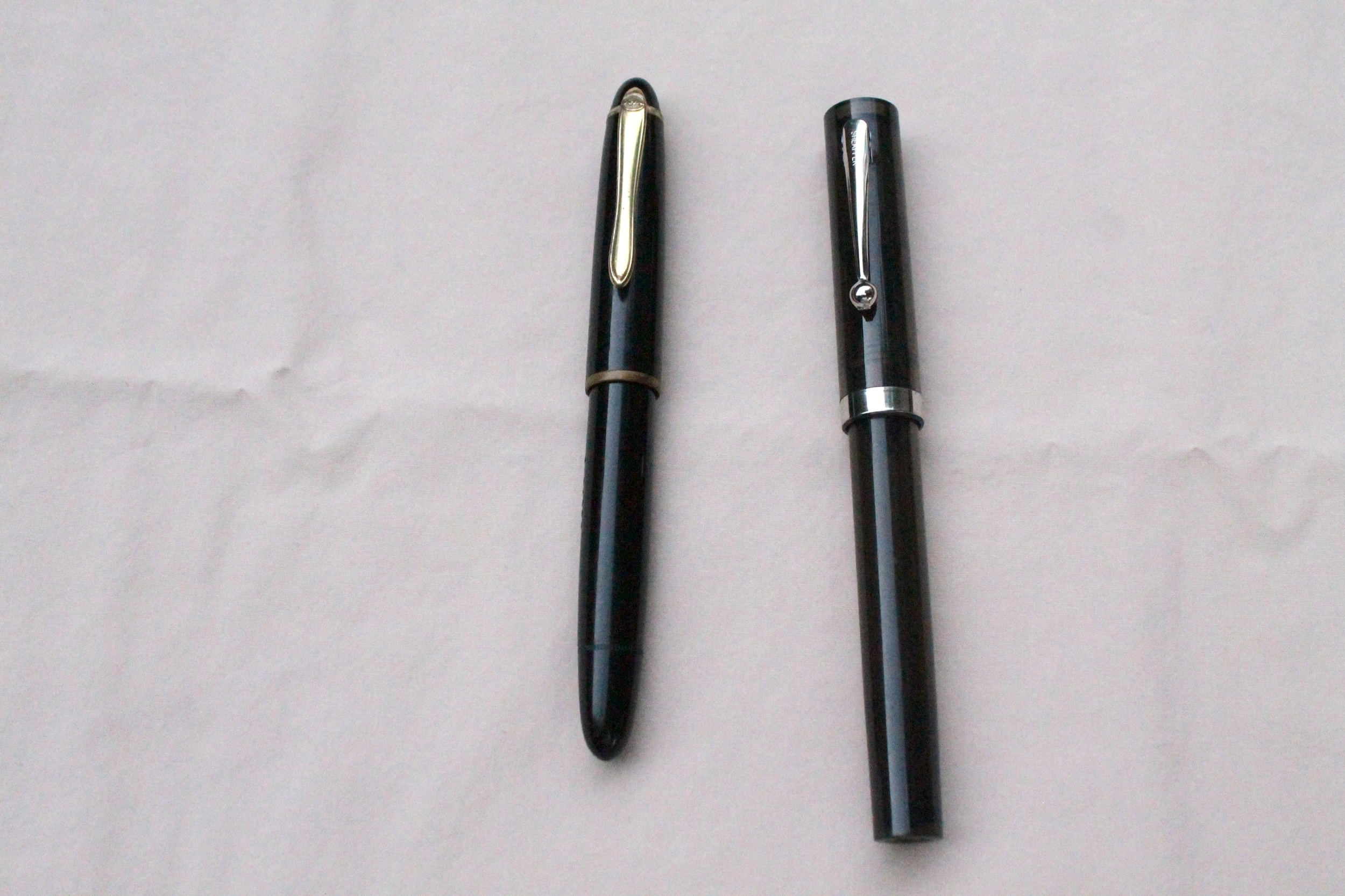 Geha (right) Sheaffer (left)