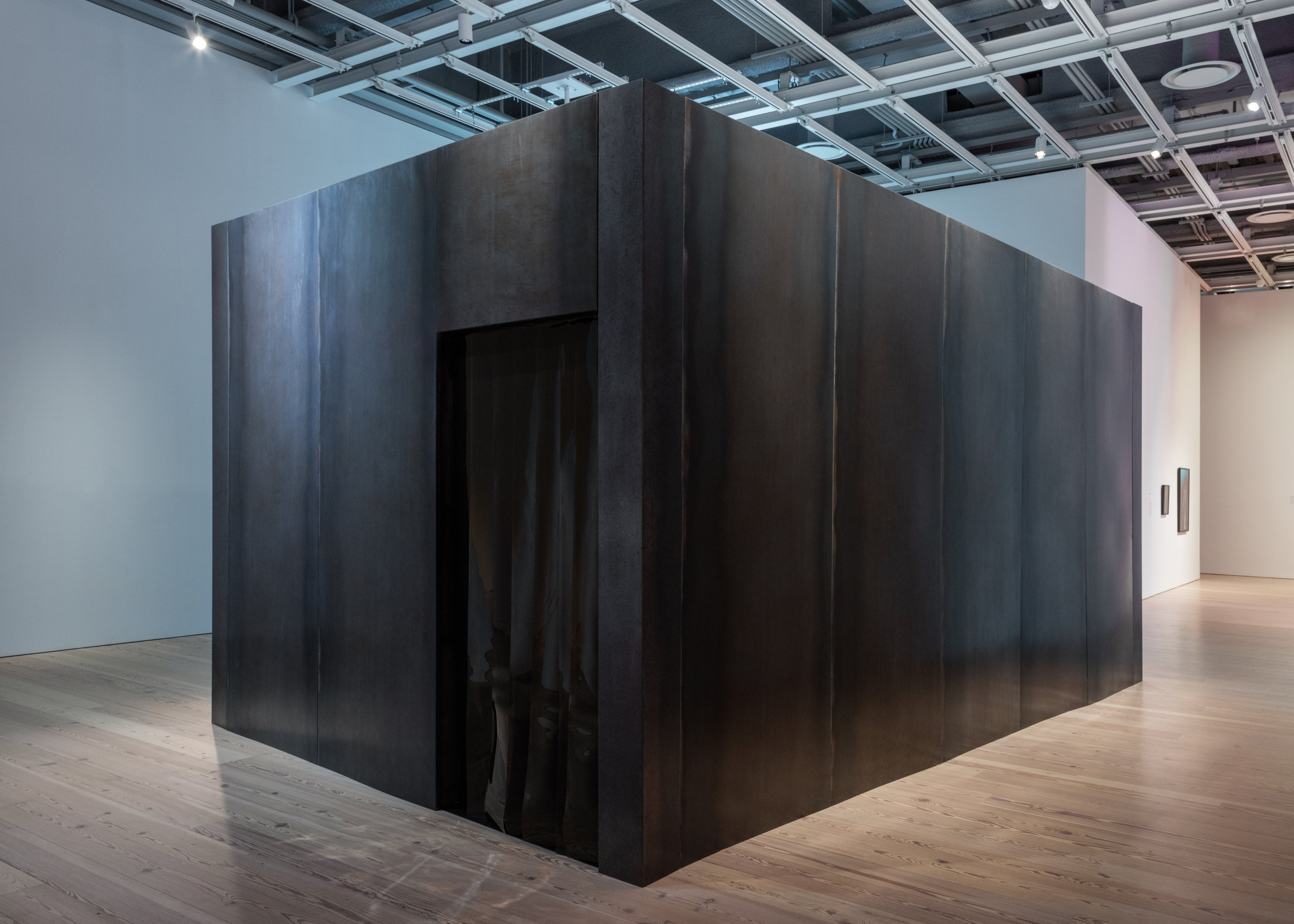 """Installation view at """"Dreamlands: Immersive Cinema and Art, 1905–2016,"""" Whitney Museum of American Art, New York"""