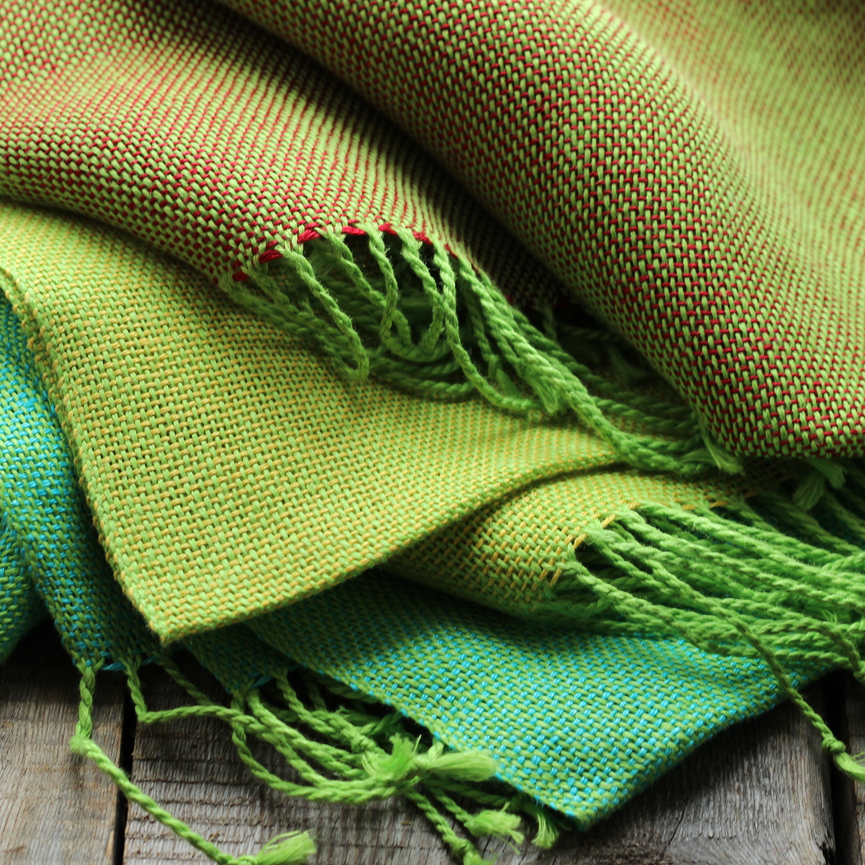 Linen scarves for spring and summer