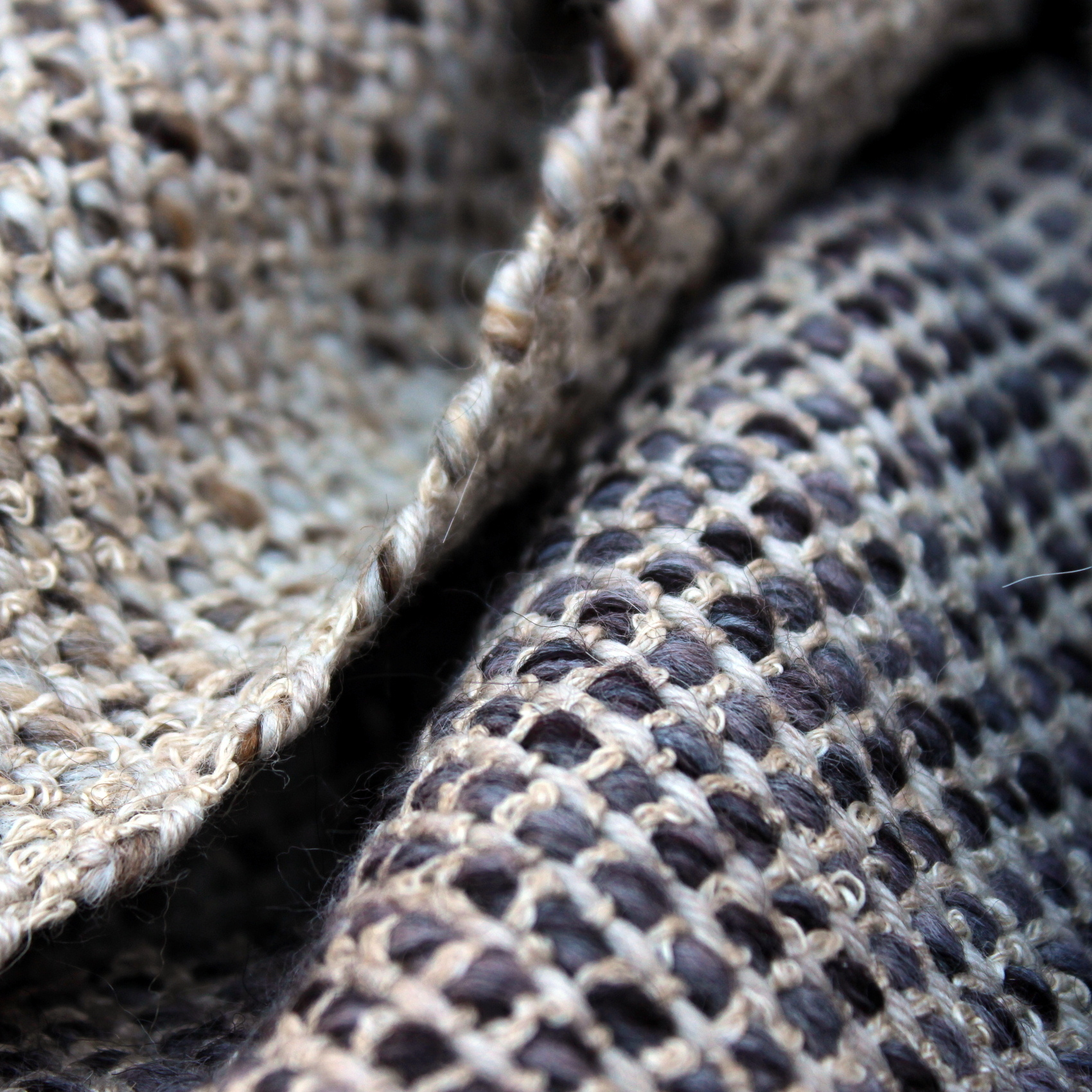 Warm and cosy textures for bed throws/