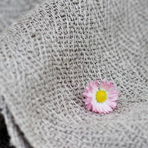 Linen massage towels.
