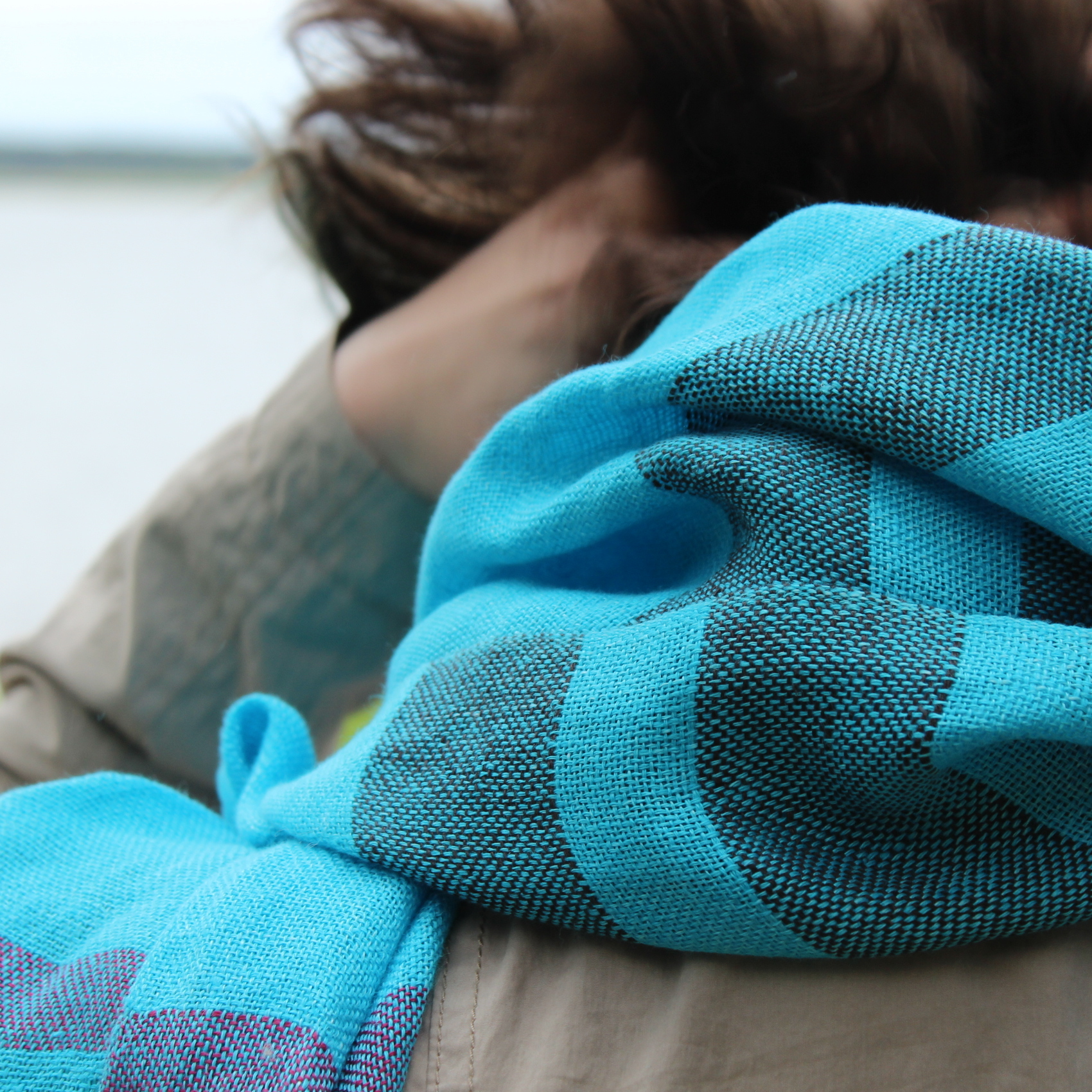 Unisex scarves for sping and summer.