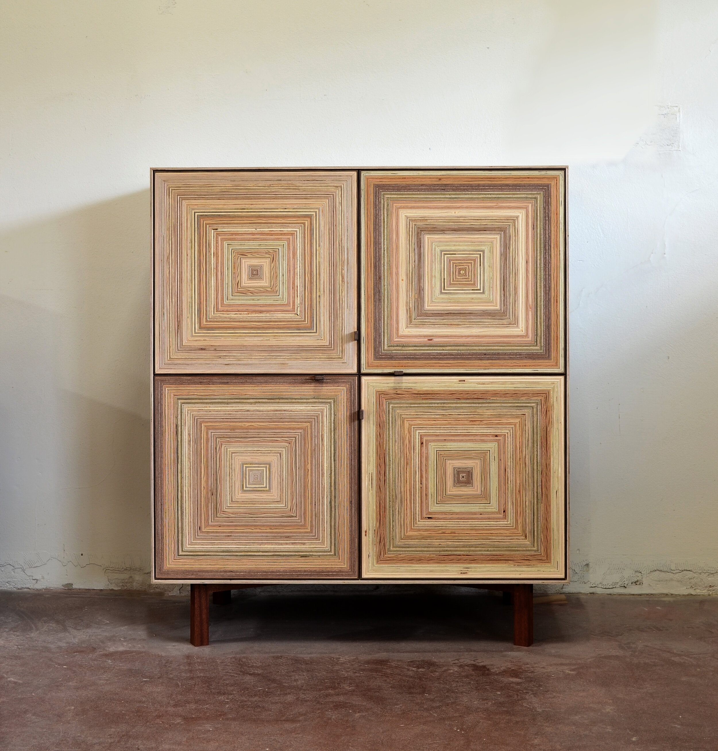 Four Square storage cabinet