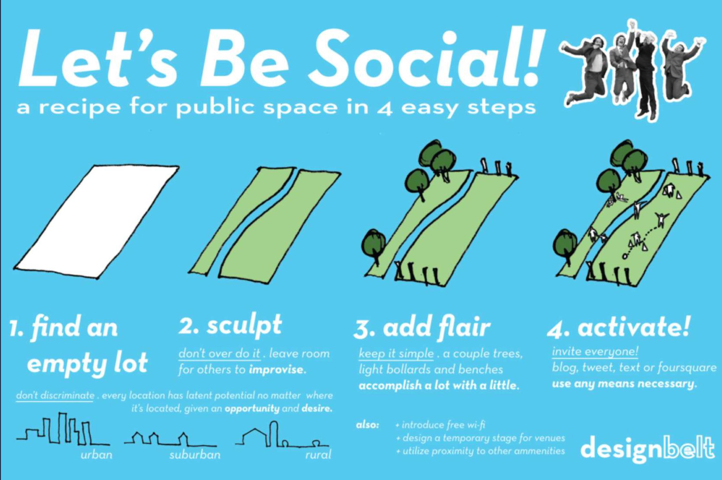 Designbelt - Lets Be Social