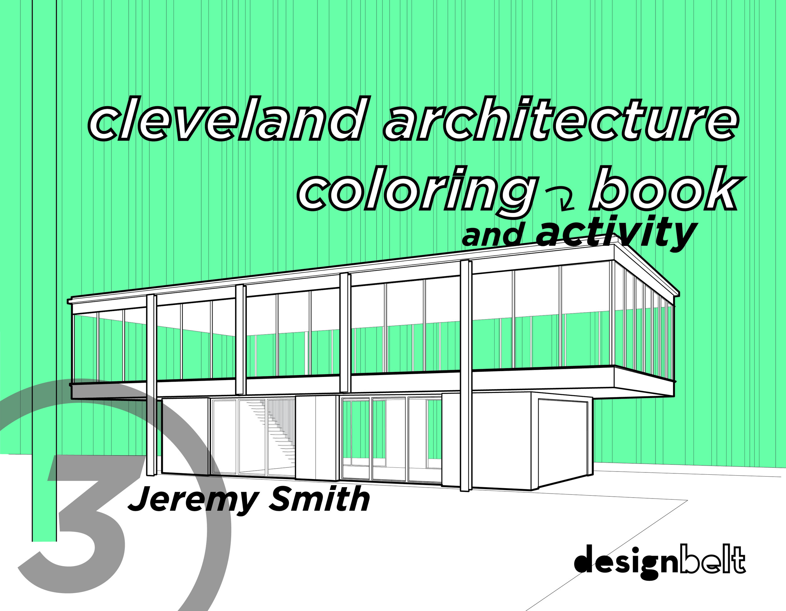 CLEVELAND ARCHITECTURE COLORING AND ACTIVITY BOOK   3rd Edition   > See More