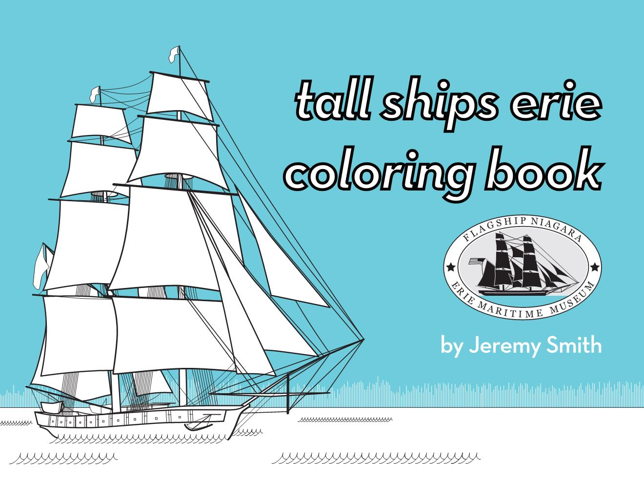 TALL SHIPS ERIE COLORING BOOK   > See More