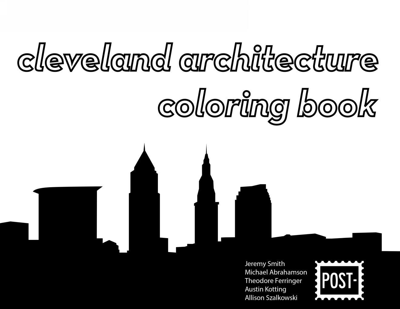 CLEVELAND ARCHITECTURE COLORING BOOK   1st Edition   > See More