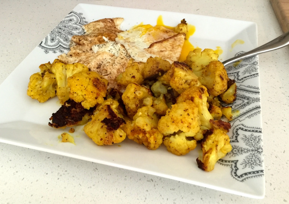 Served along side some fried eggs to make an amazingly delicious (and yellow) breakfast!