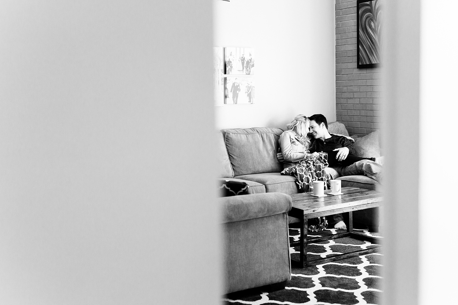 Rachael Bowman Photography-Kristin and Ron-Raleigh-lifestyle-in home session-North Carolina-Couples-Engagement-Photographer-Photos-_0003.jpg