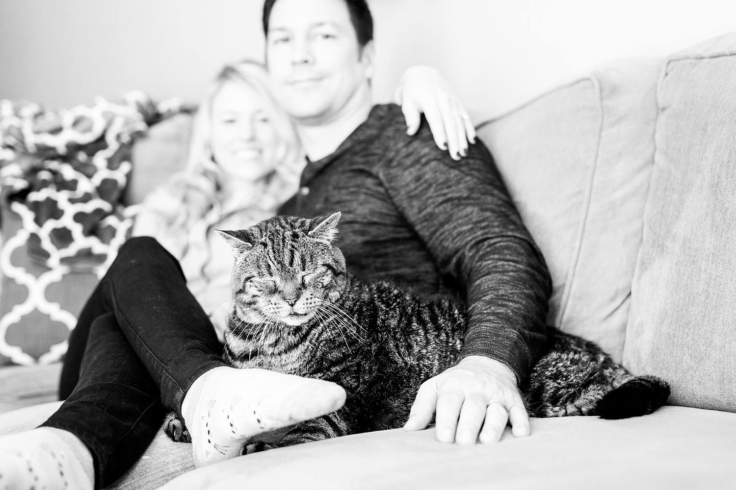 Rachael Bowman Photography-Kristin and Ron-Raleigh-lifestyle-in home session-North Carolina-Couples-Engagement-Photographer-Photos-_0034.jpg