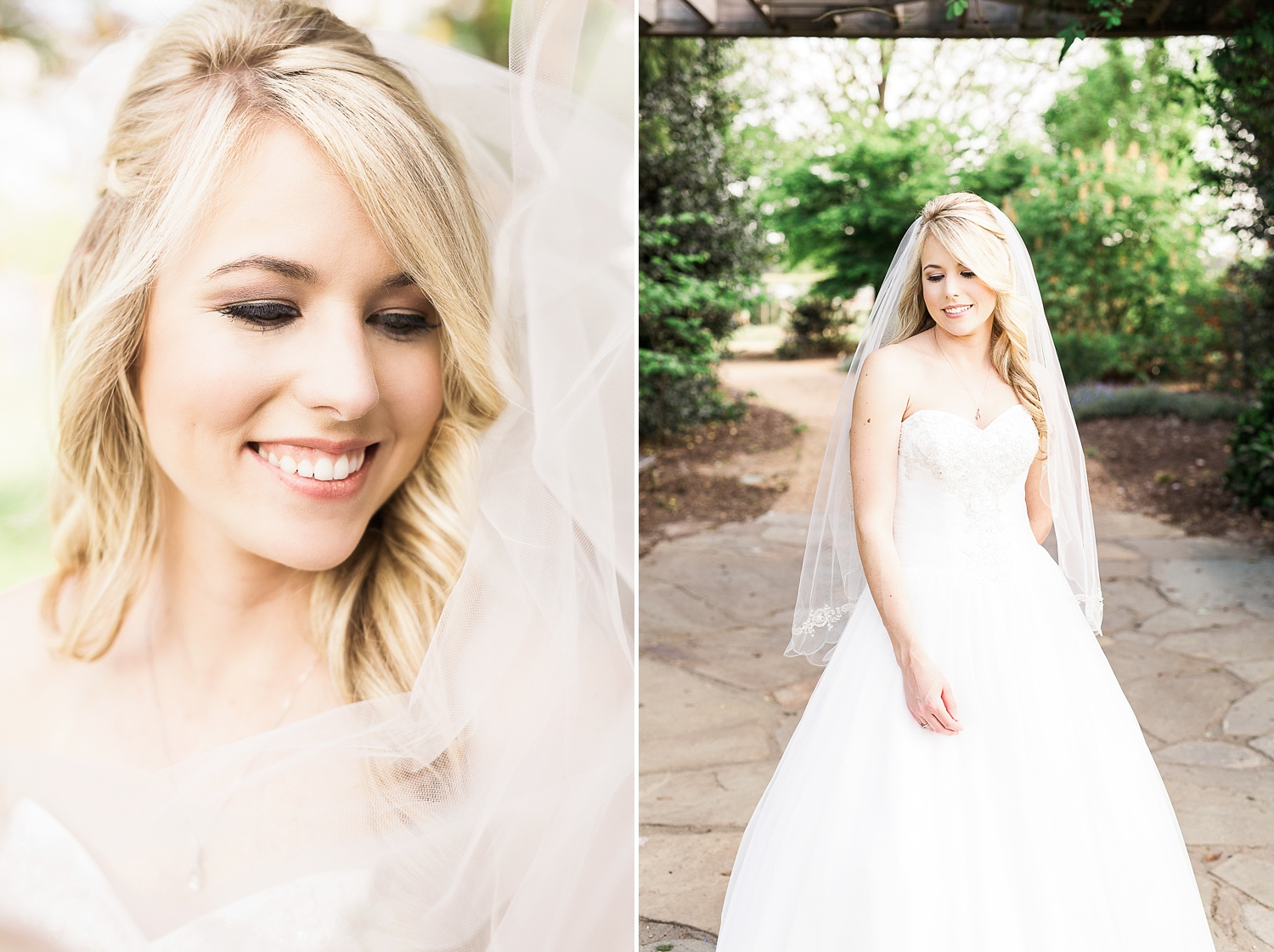 garden bridal session raleigh nc