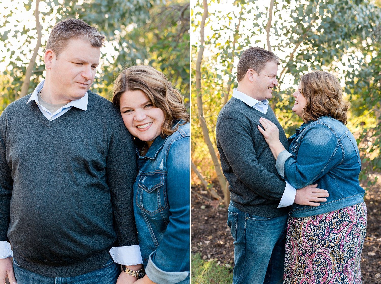 Garden Engagement Session in Raleigh, NC