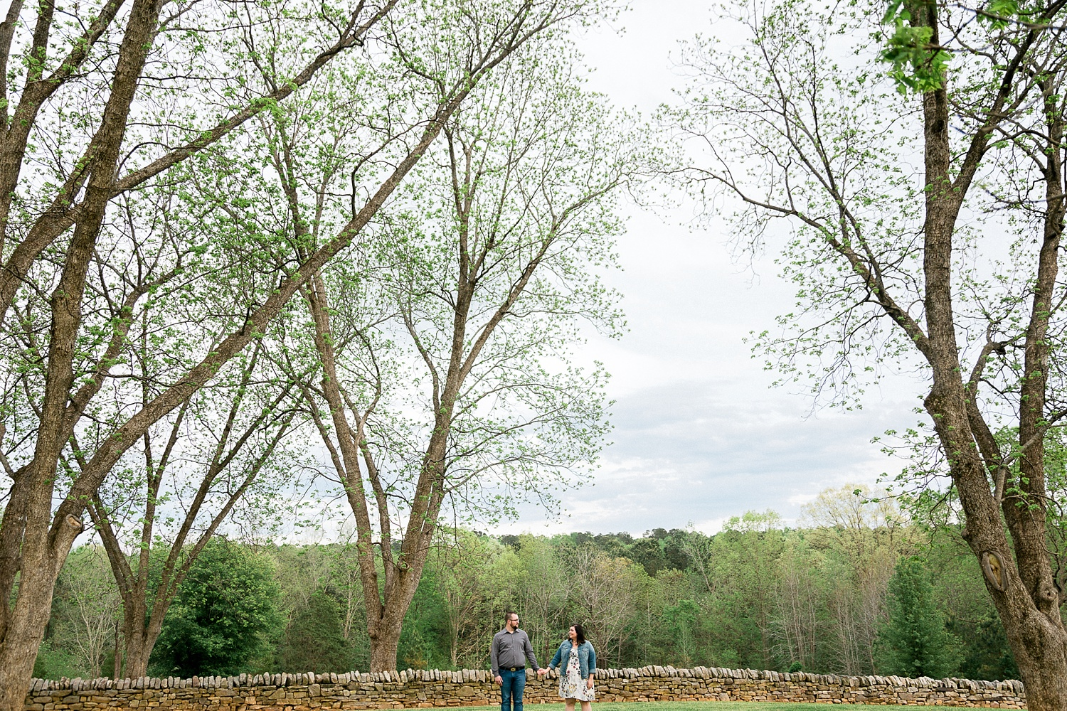 wake forest park engagement session