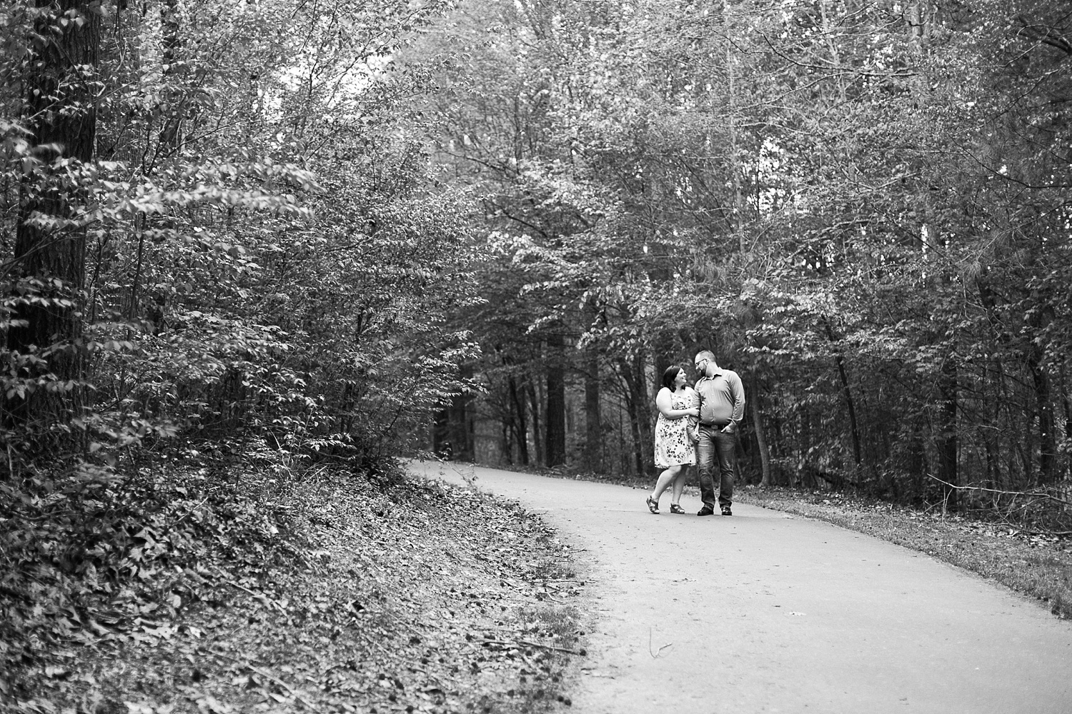 greenway engagement session