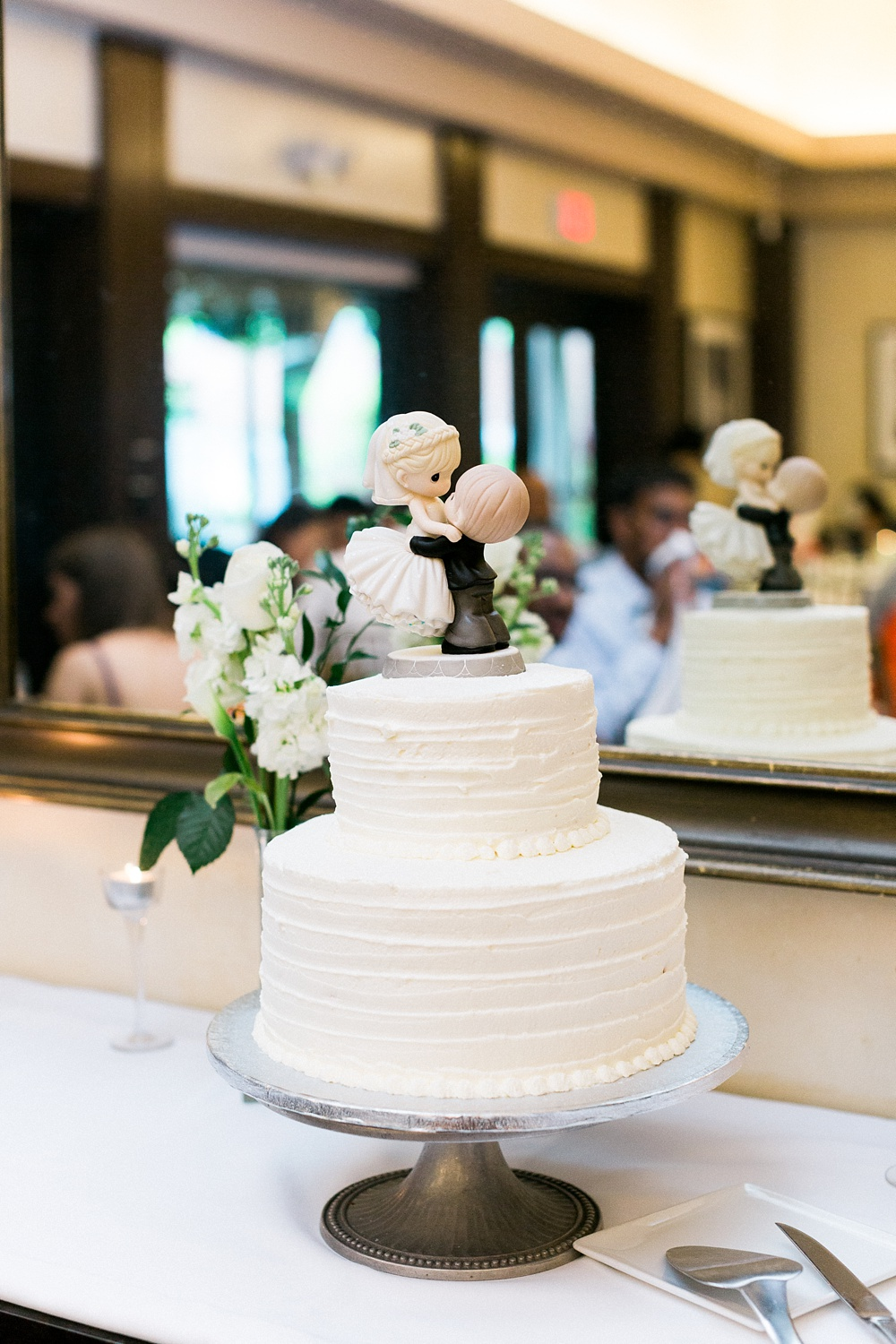 precious moments wedding cake