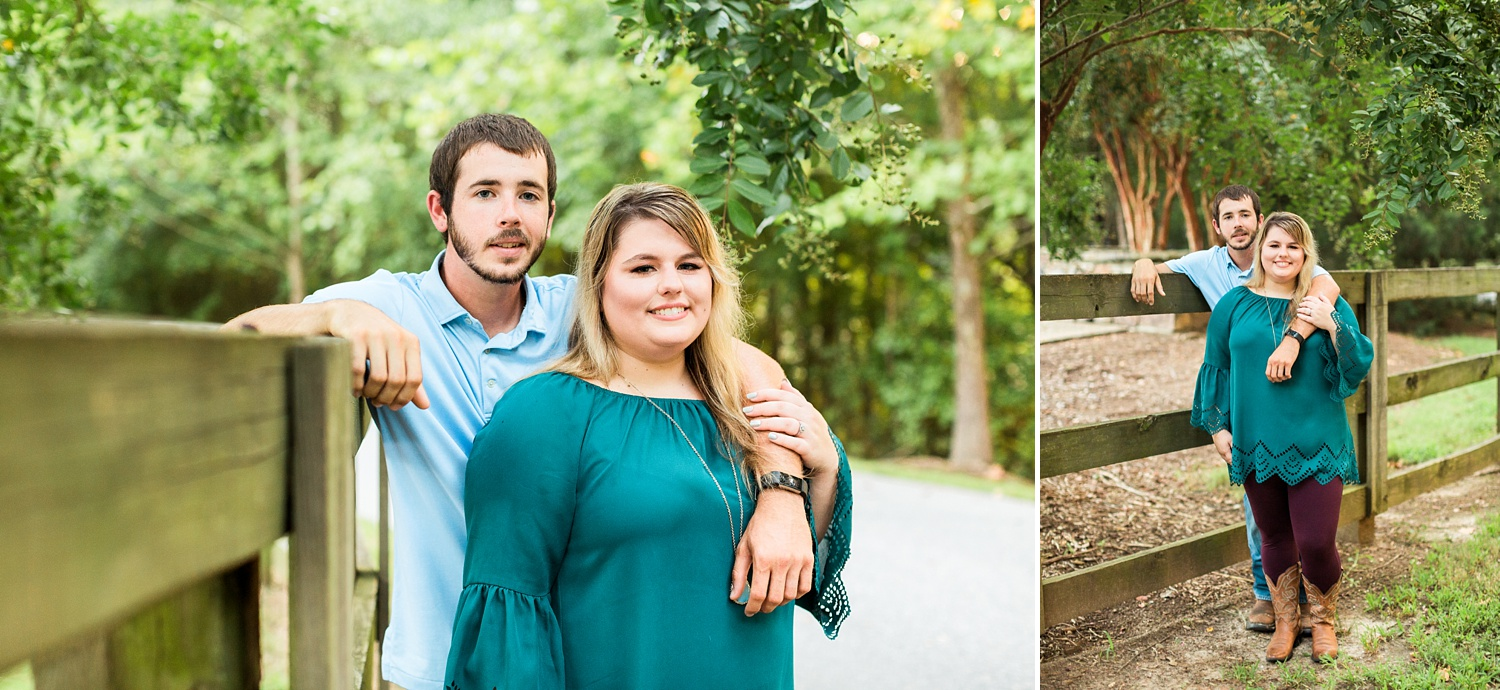 Southern engagement session in north carolina