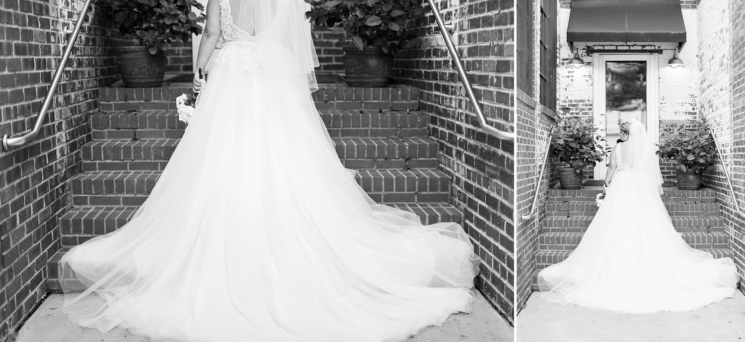 Bridal Session at Forest Hall at Chatham Mills