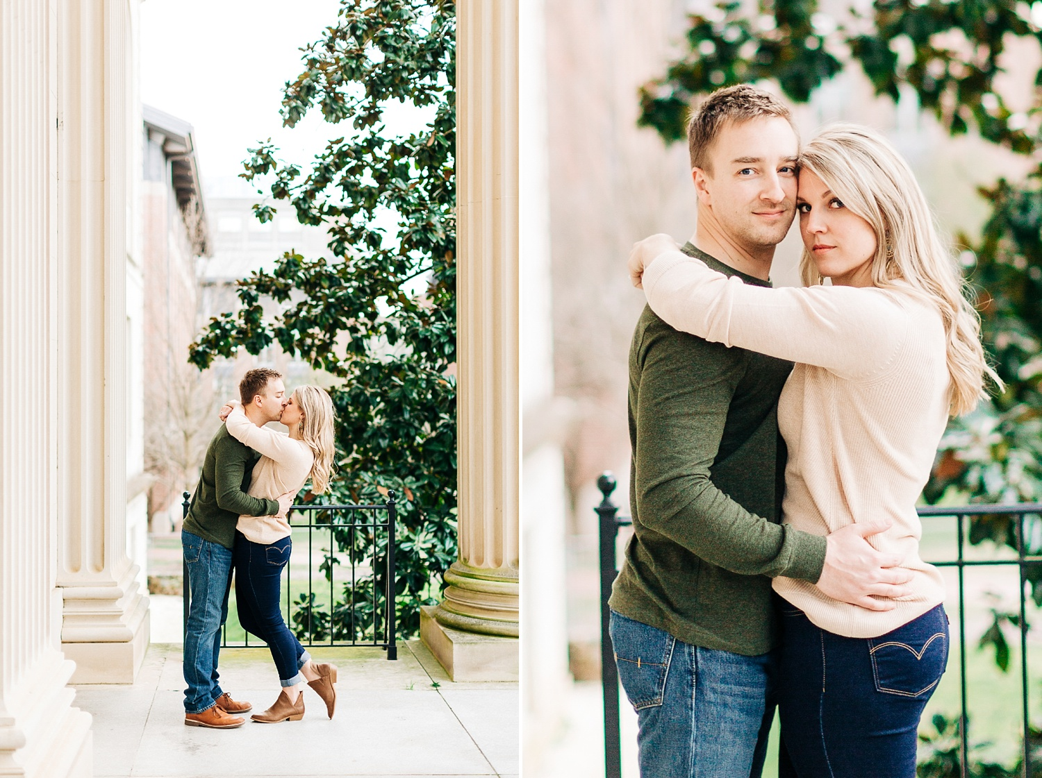 wilson library engagement session