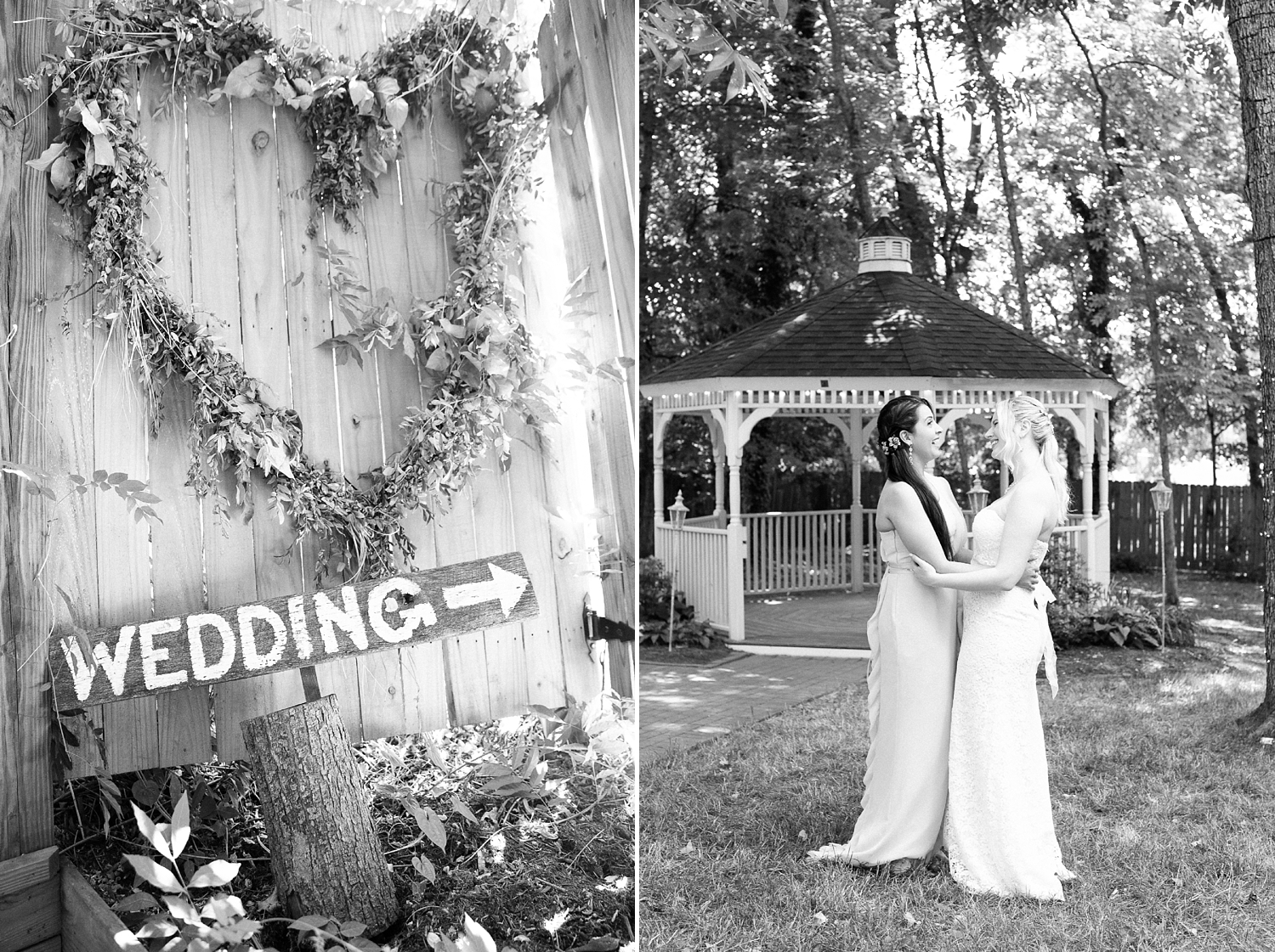 small wedding at cooper's landing inn by rachael bowman photography