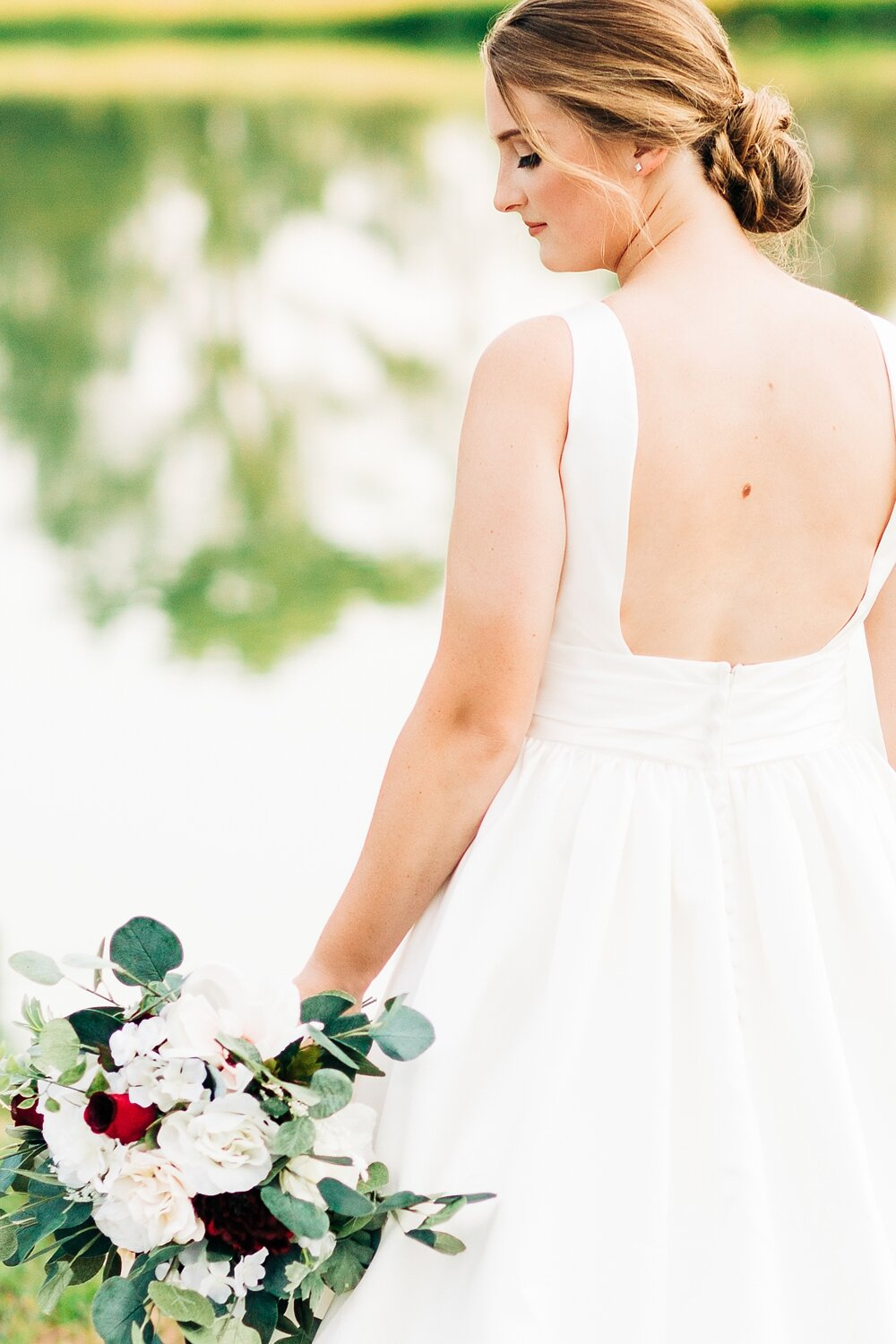 bridal session in zebulon north carolina by rachael bowman photography