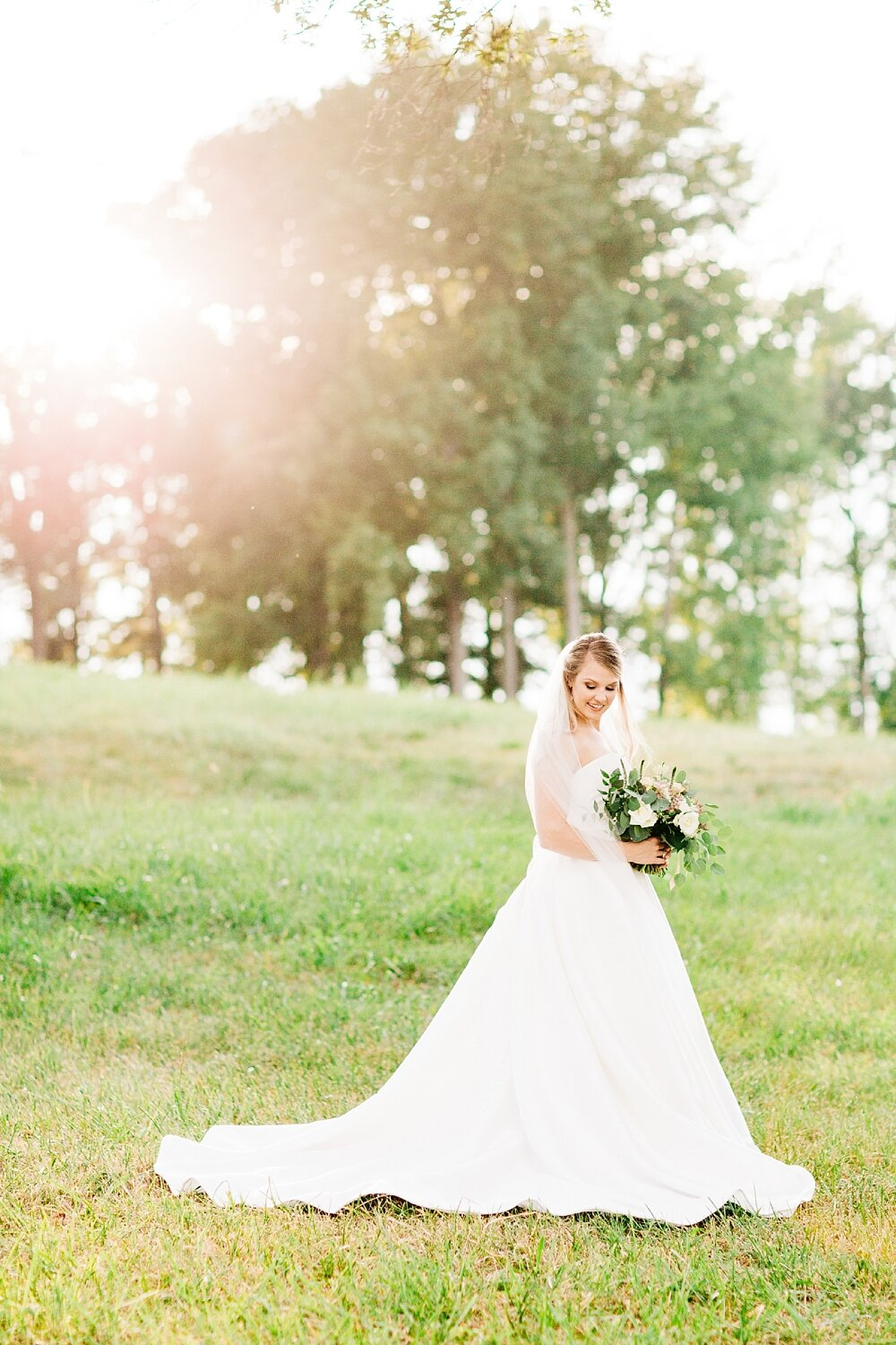 bridal session at the addison farm by rachael bowman photography