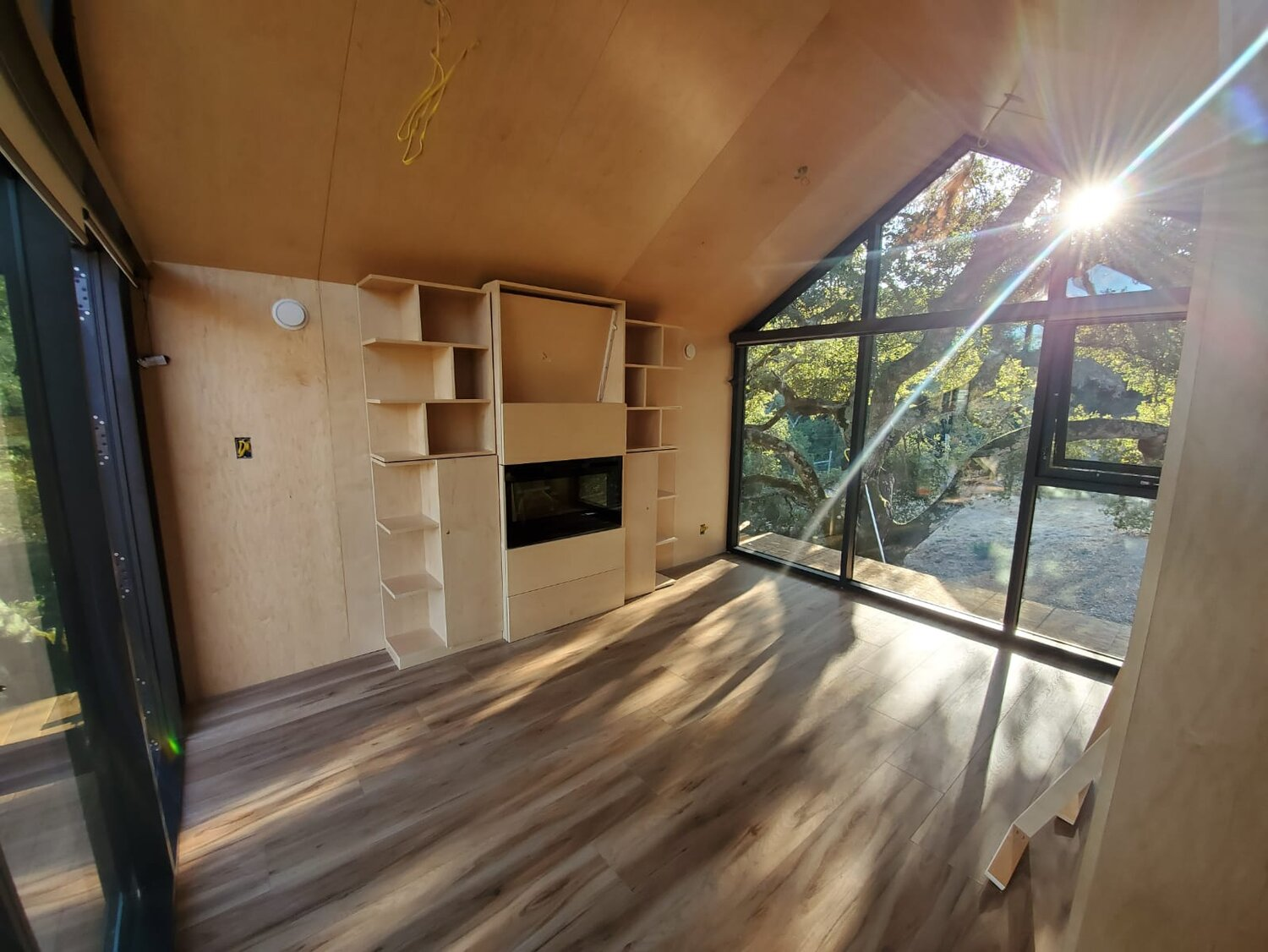 Interior image of a 170 sqft Deluxe Extended Monarch Bunkie