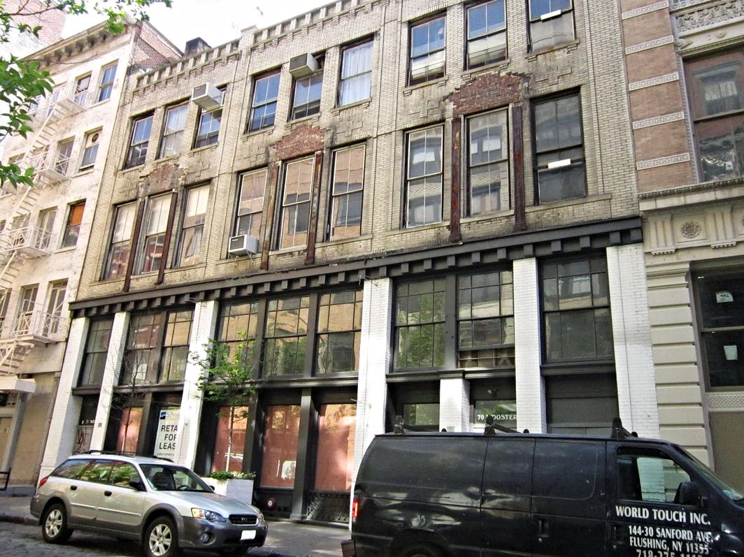 ▹  SoHo, NY   ▹  $4,000,000   ▹  Permanent Financing   ▹  5 unit mixed use Multifamily
