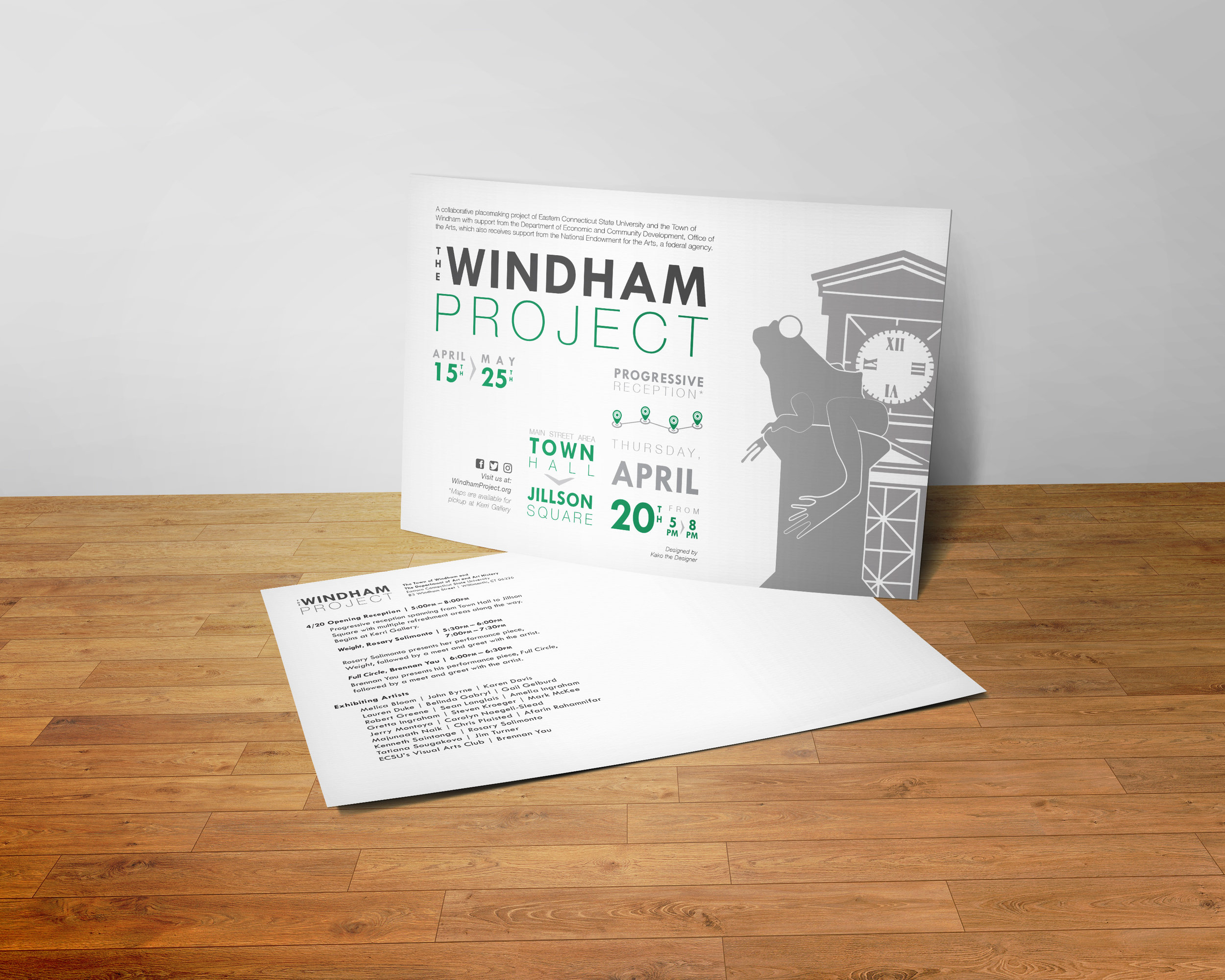 """""""The Windham Project"""" Branding, 2017"""