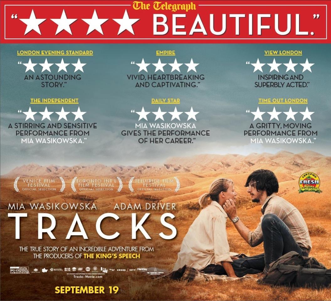 Tracks the movie