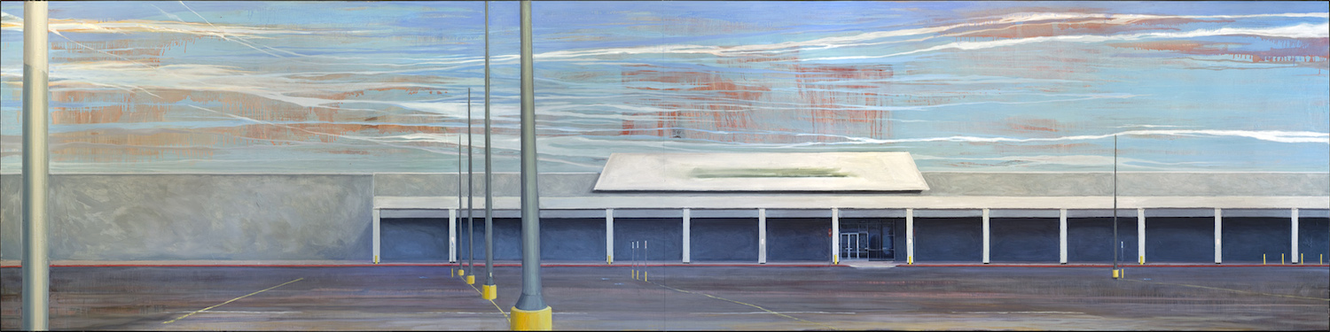 Cloister    48 x 192 inches   oil on panel   (2014)
