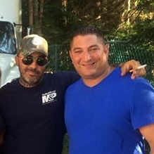 Aaron Lewis of Staind and Florida Private Detective Agency Owner James Wojnar of A1A Investigators in Jacksonville, FL.