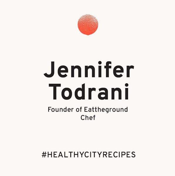 Healthy City Guide, Dec. 2018 - Instagram, sharing 3 Christmas recipes