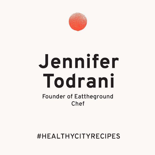 Healthy City Guide, Dec. 2018 - Instagram, creating 3 Christmas recipes