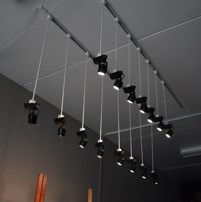 black track lighting